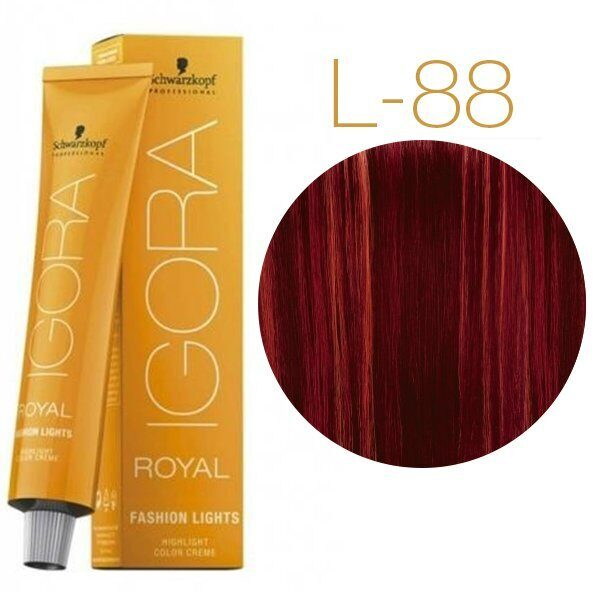 Schwarzkopf Крем-краска Igora Royal Fashion lights L-88 60 мл