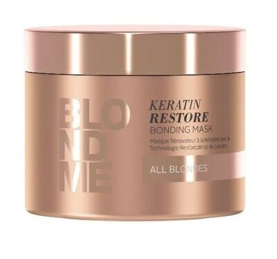BlondMe Keratin Restore Bonding Mask 200 ml БлондМи Бондинг-маска Кератиновое восстановление 200 мл