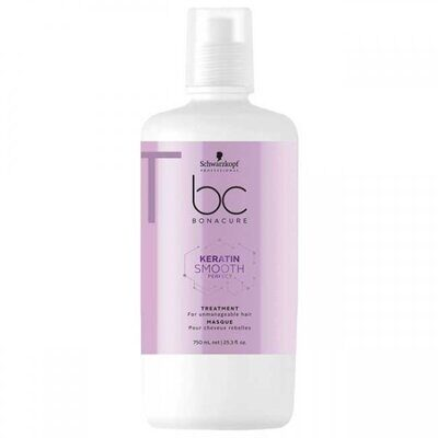 Schwarzkopf BC Bonacure Keratin Smooth Perfect. Treatment - Маска для волос 750 мл