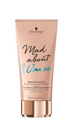 Schwarzkopf Mad About Waves Windy Texture Balm - Текстурирующий бальзам 150 мл