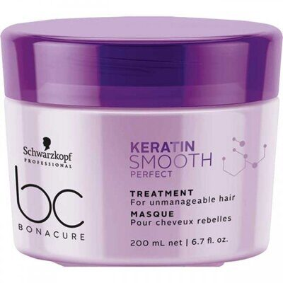 Schwarzkopf BC Bonacure Keratin Smooth Perfect. Treatment - Маска для волос 200 мл