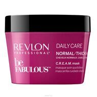 Revlon Be Fabulous Daily Care C.R.E.A.M Normal Hair Thick Mask - Маска для нормальных и густы волос 200 мл